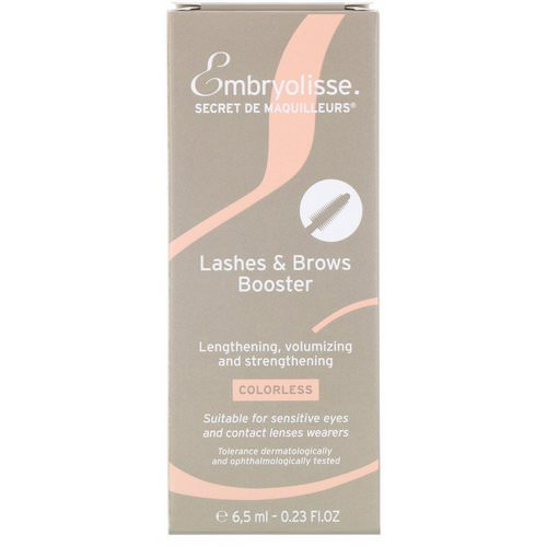 Embryolisse, Lashes & Brows Booster, 0.23 fl oz (6.5 ml) فوائد