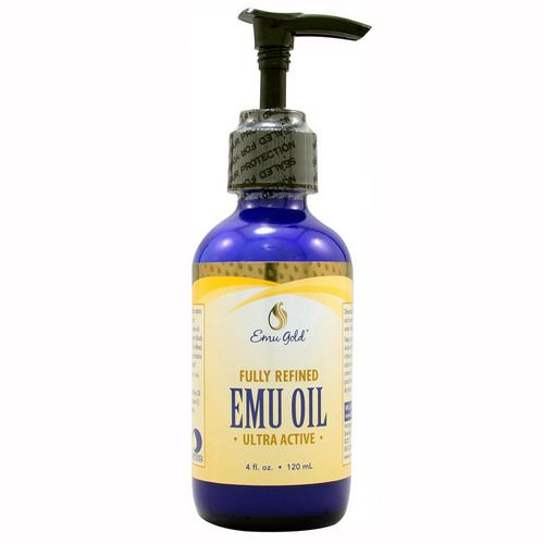 Emu Gold, Emu Oil, Fully Refined, Ultra Active, 4 fl oz (120 ml) فوائد