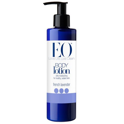 EO Products, Body Lotion, French Lavender, 8 fl oz (236 ml) فوائد