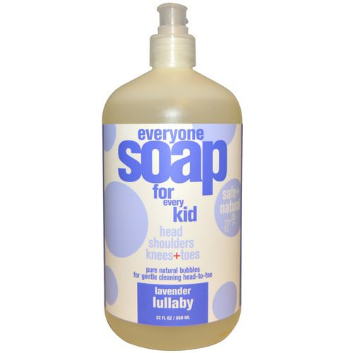 EO Products, Everyone Soap for Every Kid, Lavender Lullaby, 32 fl oz (960 ml) فوائد