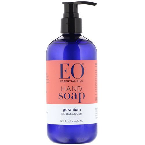 EO Products, Hand Soap, Geranium, 12 fl oz (355 ml) فوائد