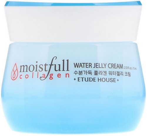 Etude House, Moistfull Collagen, Water Jelly Cream, 2.53 fl oz (75 ml) فوائد