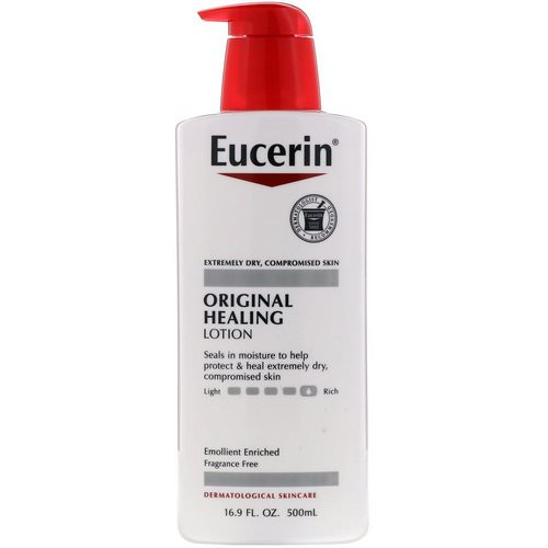 Eucerin, Original Healing Lotion, 16.9 fl oz (500 ml) فوائد