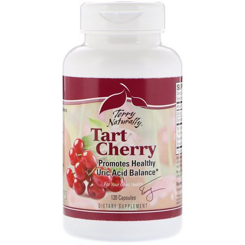 EuroPharma, Terry Naturally, Tart Cherry, 120 Capsules فوائد