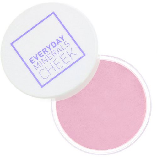 Everyday Minerals, Cheek Blush, Field of Roses, .17 oz (4.8 g) فوائد