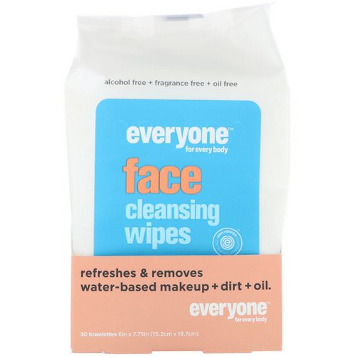 Everyone, Face, Cleansing Wipes, 30 Towelettes فوائد