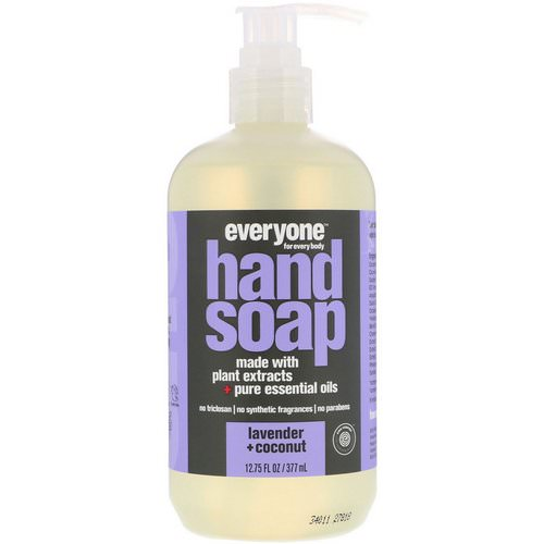 Everyone, Hand Soap, Lavender + Coconut, 12.75 fl oz (377 ml) فوائد