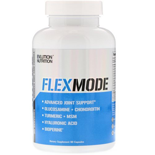 EVLution Nutrition, FlexMode, Advanced Joint Support Formula, 90 Capsules فوائد