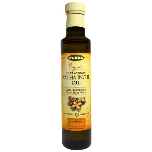 Flora, Organic Extra-Virgin Sacha Inchi Oil, 8.5 fl oz (250 ml) فوائد