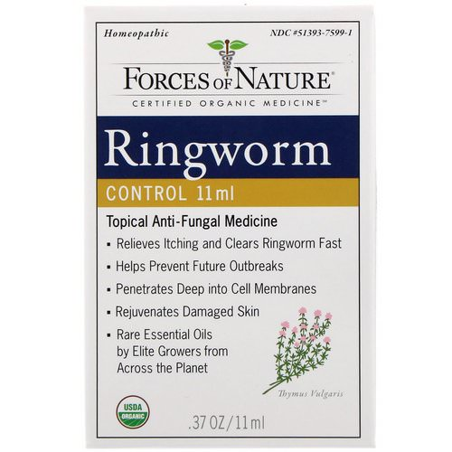 Forces of Nature, Ringworm Control, 0.37 oz (11 ml) فوائد