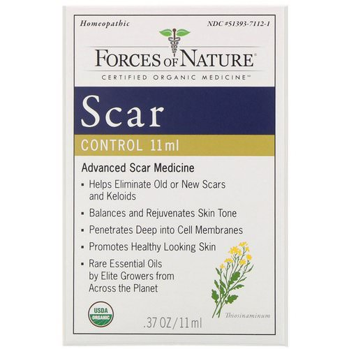 Forces of Nature, Scar Control, 0.37 oz (11 ml) فوائد