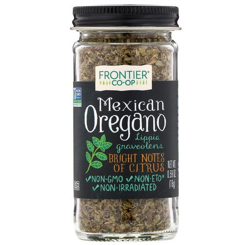 Frontier Natural Products, Mexican Oregano, 0.59 oz (16 g) فوائد