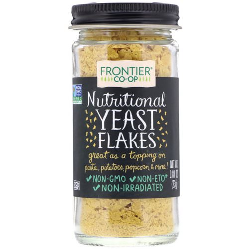 Frontier Natural Products, Nutritional Yeast Flakes, 0.81 oz (23 g) فوائد
