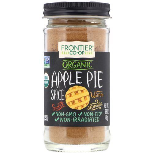 Frontier Natural Products, Organic, Apple Pie Spice, 1.69 oz (48 g) فوائد