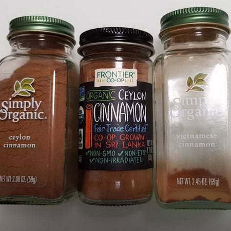 Frontier Natural Products Cinnamon Spices