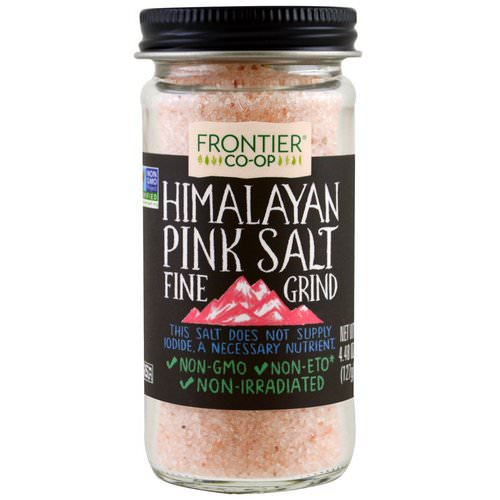 Frontier Natural Products, Himalayan Pink Salt, Fine Grind, 4.48 oz (127 g) فوائد