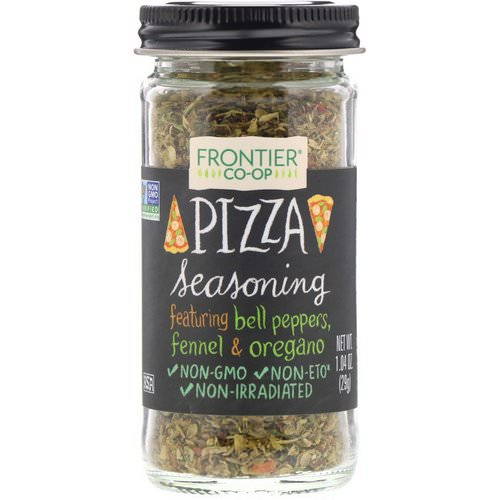 Frontier Natural Products, Pizza Seasoning, 1.04 oz (29 g) فوائد