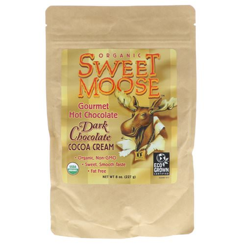 FunFresh Foods, Sweet Moose, Gourmet Hot Chocolate, Dark Chocolate Cocoa Cream, 8 oz (227 g) فوائد