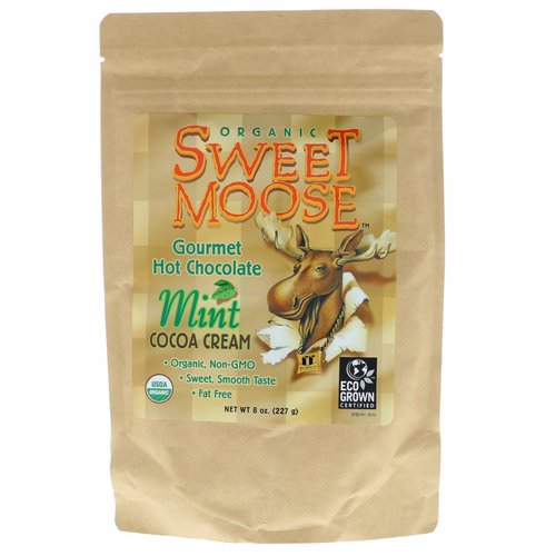 FunFresh Foods, Sweet Moose, Gourmet Hot Chocolate, Mint Cocoa Cream, 8 oz (227 g) فوائد