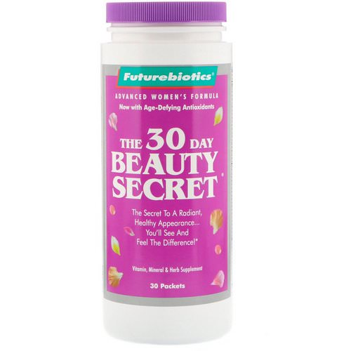 FutureBiotics, The 30 Day Beauty Secret, 30 Packets فوائد