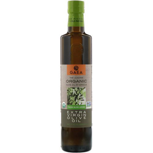 Gaea, Organic Extra Virgin Olive Oil, 17 fl oz (500 ml) فوائد