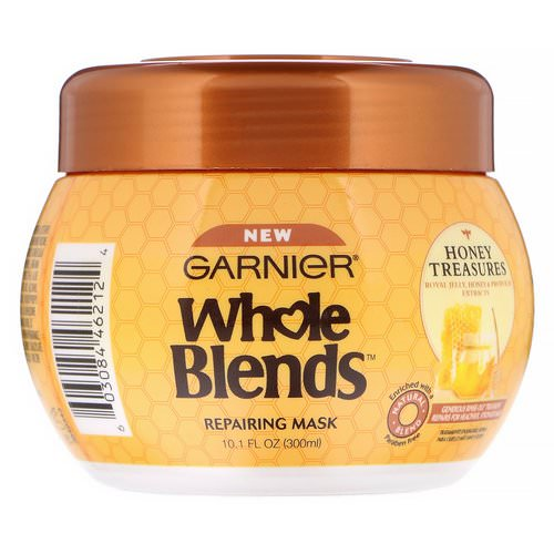 Garnier, Whole Blends, Repairing Mask, Honey Treasures, 10.1 fl oz (300 ml) فوائد
