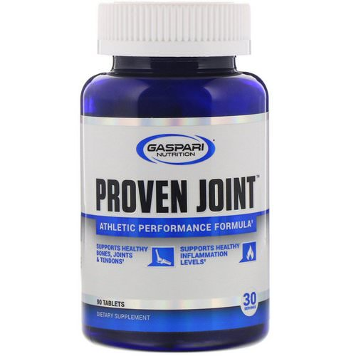 Gaspari Nutrition, Proven Joint, Athletic Performance Formula, 90 Tablets فوائد