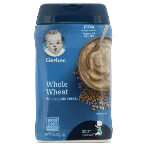 Gerber, Whole Wheat Cereal, 8 oz (227 g) فوائد