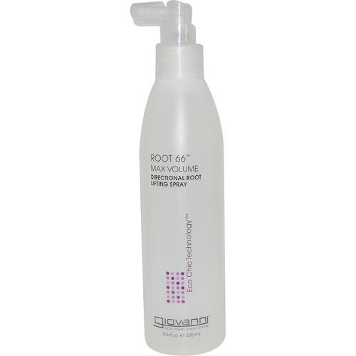 Giovanni, Root 66, Max Volume, Directional Root Lifting Spray, 8.5 fl oz (250 ml) فوائد