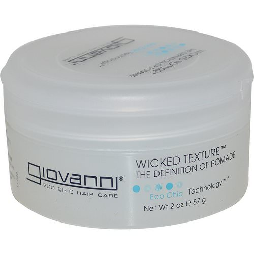 Giovanni, Wicked Texture, The Definition of Pomade, 2 oz (57 g) فوائد