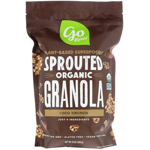 Go Raw, Organic Sprouted Granola, Coco Crunch, 16 oz (454 g) فوائد
