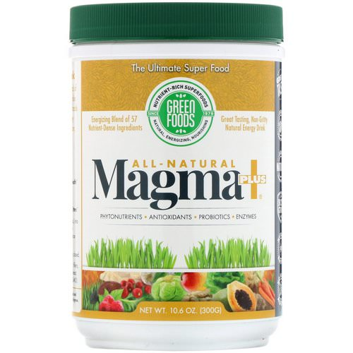 Green Foods, All-Natural Magma Plus, 10.6 oz (300 g) فوائد