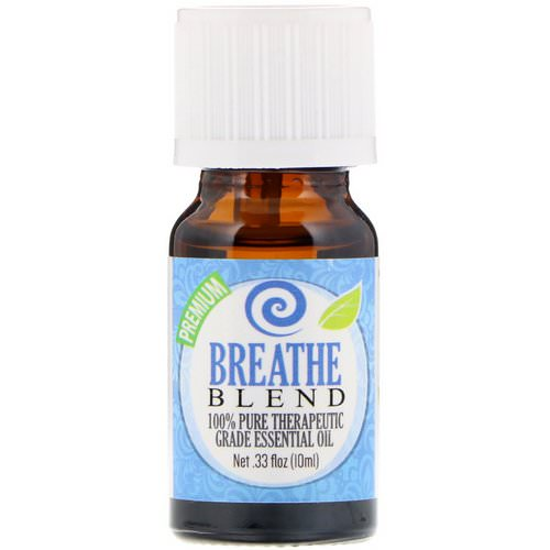 Healing Solutions, 100% Pure Therapeutic Grade Essential Oil, Breathe Blend, 0.33 fl oz (10 ml) فوائد