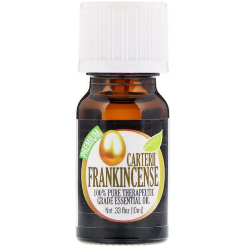 Healing Solutions, 100% Pure Therapeutic Grade Essential Oil, Carterii Frankincense, 0.33 fl oz (10 ml) فوائد