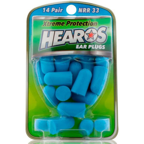 Hearos, Ear Plugs, Xtreme Protection, 14 Pair فوائد