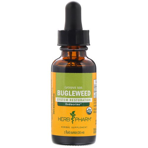 Herb Pharm, Bugleweed, 1 fl oz (30 ml) فوائد