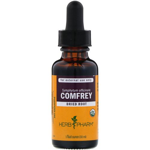 Herb Pharm, Comfrey, 1 fl oz (30 ml) فوائد