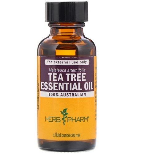 Herb Pharm, Tea Tree Essential Oil, 1 fl oz (30 ml) فوائد