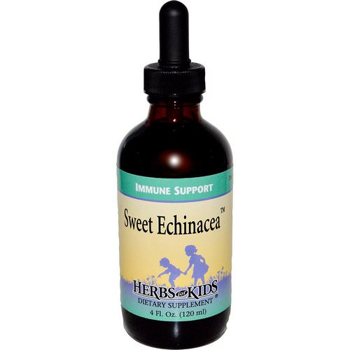 Herbs for Kids, Sweet Echinacea, 4 fl oz (120 ml) فوائد