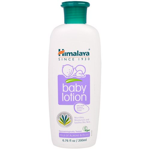 Himalaya, Baby Lotion, Oils of Almond & Olive, 6.76 fl oz (200 ml) فوائد