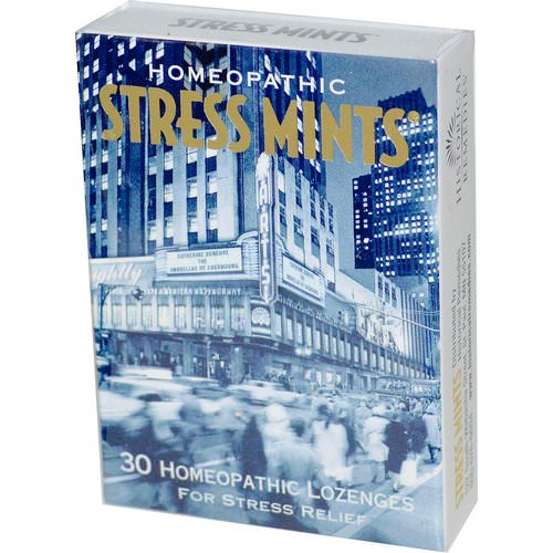Historical Remedies, Stress Mints, 30 Homeopathic Lozenges فوائد