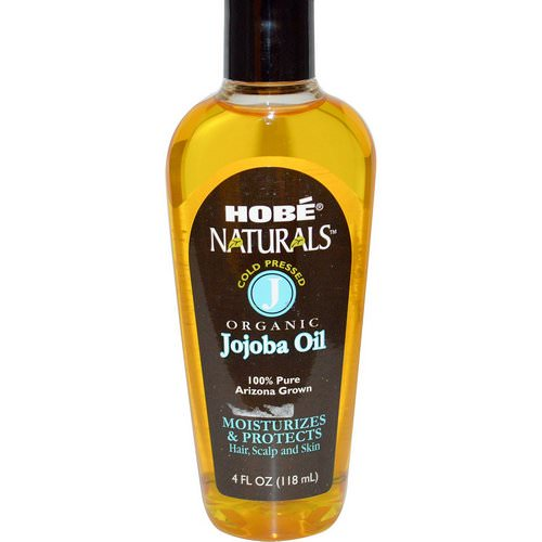 Hobe Labs, Naturals, Organic Jojoba Oil, 4 fl oz (118 ml) فوائد