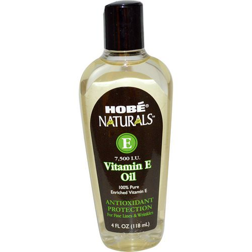 Hobe Labs, Naturals Vitamin E Oil, 7,500 IU, 4 fl oz (118 ml) فوائد