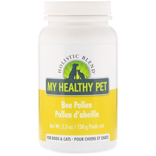 Holistic Blend, My Healthy Pet, Bee Pollen, For Dogs & Cats, 5.3 oz (150 g) فوائد