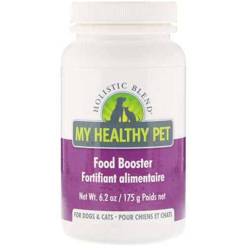 Holistic Blend, My Healthy Pet, Food Booster, For Dogs & Cats, 6.2 oz (175 g) فوائد