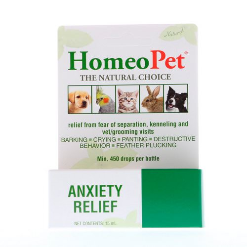 HomeoPet, Anxiety Relief, 15 ml فوائد