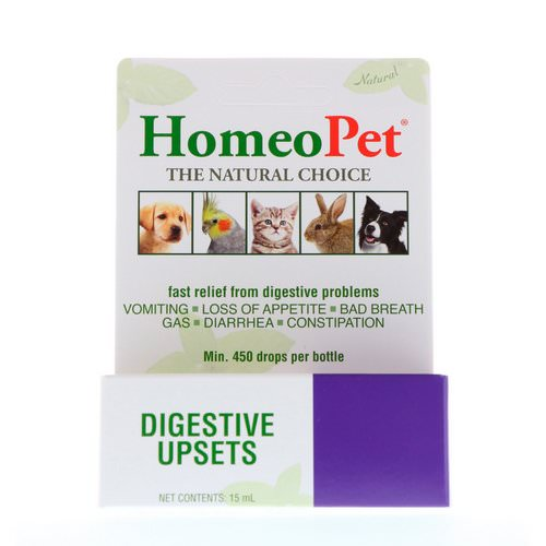 HomeoPet, Digestive Upsets, 15 ml فوائد