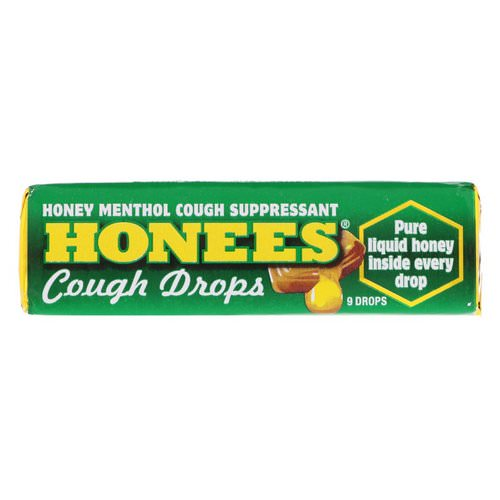 Honees, Menthol Eucalyptus Cough Drops, 9 Drops فوائد