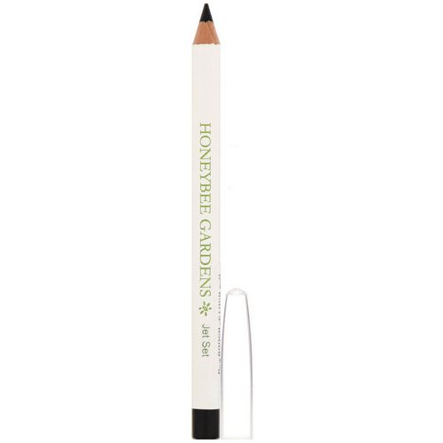 Honeybee Gardens, Eye Liner, Jet Set, 0.04 oz (1 g) فوائد