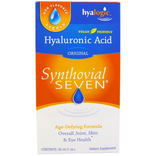 Hyalogic, Hyaluronic Acid, Synthovial Seven, 1 oz (30 ml) فوائد